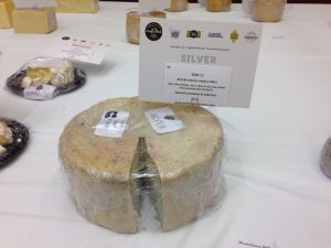 Medalla de plata como mejor nuevo queso azul del mundo El Cabriteru Arenas de Cabrale