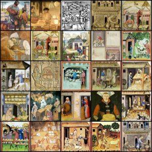 Imágenes del queso a lo largo de la historia