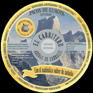 queso azul El Cabriteru puro leche oveja