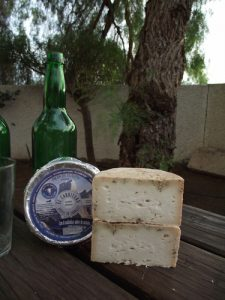 Queso azul El Cabriteru y sidra de Asturias