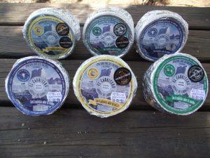 Una quesería artesanal y tres variedades de Queso azul