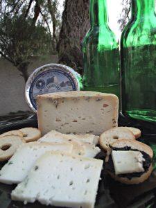 cata quesería El Cabriteru queso azul y sidra