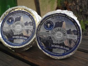 queso azul pura leche de cabra El Cabriteru