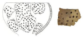 restos primeras vasijas para leche