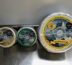 queso azul de el Cabriteru diferentes tamaños