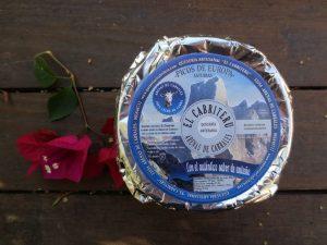 queso azul pura leche cruda de cabra El Cabriteru