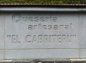 quesería artesanal El Cabriteru está en Arenas de Cabrales