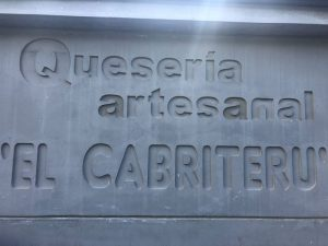quesería artesanal El Cabriteru Arenas de Cabrales