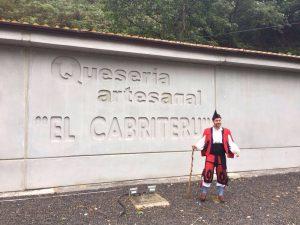 fachada quesería artesanal El Cabriteru Asturias