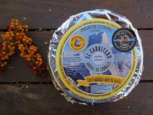 queso azul leche cruda de oveja El Cabriteru