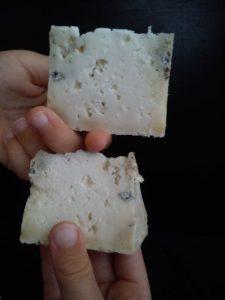 queso azul de mezcla El Cabriteru y queso azul de cabra