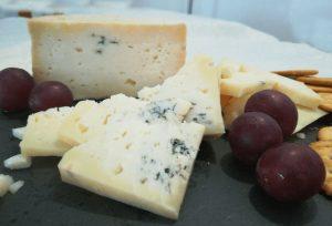 El Cabriteru queso azul y uvas