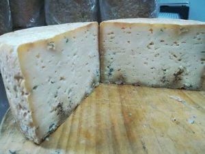 queso azul de El Cabriteru interior