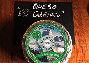 El Cabriteru queso azul mezcla etiqueta verde