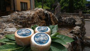 quesería artesanal El Cabriteru queso azul pura leche de cabra