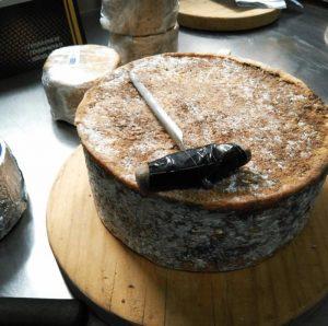 queso azul de El Cabriteru corteza natural