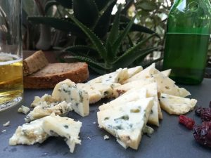 queso azul de el Cabriteru y sidra