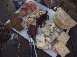 tabla queso azul El cabriteru y embutido