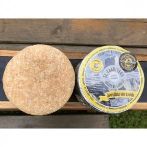 queso azul de El Cabriteru leche pura de oveja (vista superior)