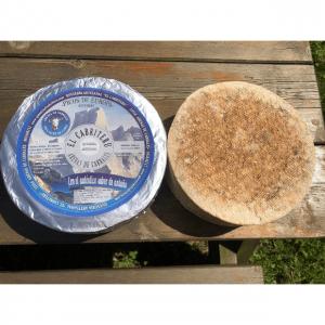 corteza natural comestible del queso azul de El Cabriteru pura leche cruda de cabra tamaño grande
