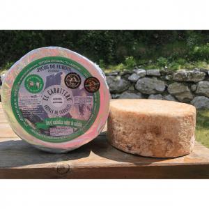 queso azul mezcla de leche de oveja y cabra de El Cabriteru corteza natural